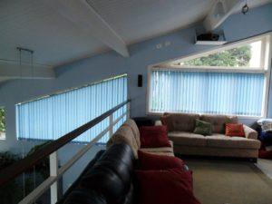 Persiana vertical para sala