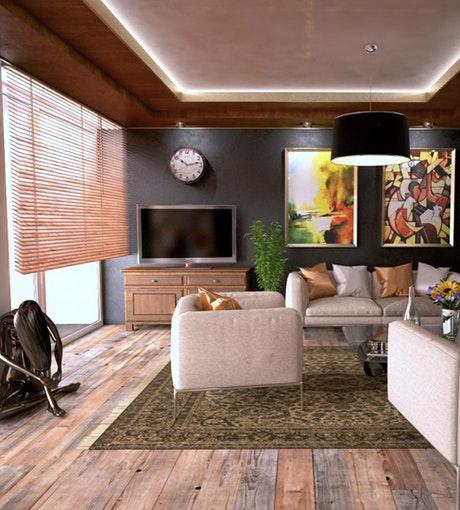 Modelos de persianas para sala
