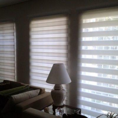 Instalação de cortinas automáticas para janelas